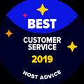 Ocenenie Najlepšia podpora zákazníkom je udelené spoločnostiam, ktoré naši editori osobne otestovali pomocou e-mailovej a telefonickej podpory, pričom podpora dosiahla skvelé výsledky.
