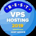 Udelené spoločnostiam v kategórii top 10 najlepší VPS hosting.