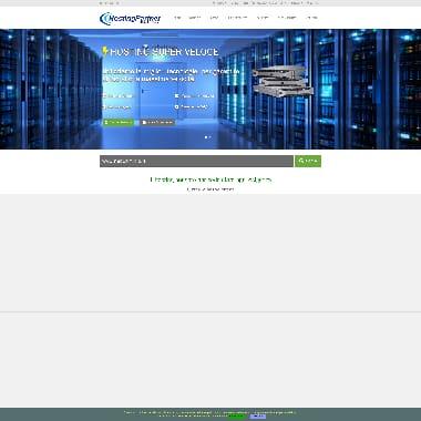 HostingPartner HomePage Screenshot